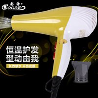 Wholesale Household hair dryer manufacturers selling color poetry Hot and cold wind blow hair dryer hairdressing high power blower
