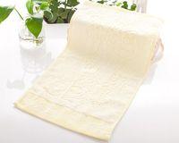 bamboo marketing - Panda bamboo fiber towel factory direct environmental antibacterial bamboo cotton towel market gift can be customized