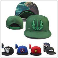 batman hats - 2016 Marvel cartoon Comics baseball cap batman bone snapback the avenger adjustable hat casquette super hero for women