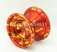 Wholesale Magic YOYO K8 Metal Colorful Aviation Aluminum Professional Yo Yo YoYo Toy Free Gift