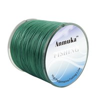 Wholesale anmuka new fishing line PE line braided wire Multifilament line carp line m strands from LB to LB fishing tackle