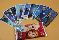Wholesale Christmas Trading Card Game Frozen Cartoon Card Game Holiday Party Card Games
