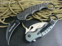 Cheap best karambit FOX knife folding fixed hunting microtech 440c d2 outdoor
