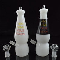 Wholesale Dab Rigs Water Glass Bongs for Smoking Milk Bottle Bong Rig mm Dome Thick mm Inline Percolator Baby Bottle Bong