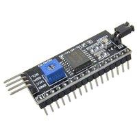 al por mayor i2c cii-IIC / I2C / TWI Puerto de módulo de placa de interfaz serie para la pantalla LCD Arduino 1602 VE207 W0.5