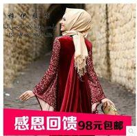 Wholesale New Arrival hot sale Hijabs New Muslim headscarves fabric Turkey tassel charm