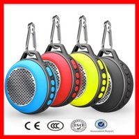 Wholesale Factory outlet bluetooth speaker wireless Outdoor travel handsfree mini speaker with buckle Portable FM radios TF card speakers bluetooth