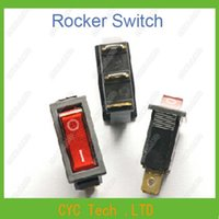 appliance rocker switch - KCD3 N KCD2 Mini Red Rocker Switch Feet Position with Light Power Switch for Industrial amp Household Appliances