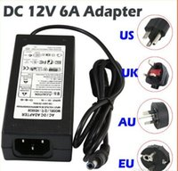 110-240V 12v ac dc 4a adapter - hot Christmas switching power supply V AC DC V A A A A A A A A Led Strip light transformer adapter lighting
