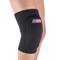 Wholesale Breathable Knee Supports Brace Wrap Football Basketball Volleyball Durable Knee Protector Guard Pad SX614