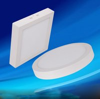 Wholesale 2015 W W W Round Square Led Panel Light Surface Mounted Led Downlight Lighting Led Ceiling Spotlight AC V Drivers