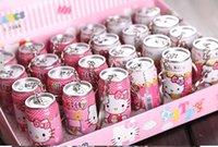 Wholesale 24pcs Hello Kitty Pen Keychain Pattern Children Kids Stationery Office School Supplies Cartoon Ballpoint Pens