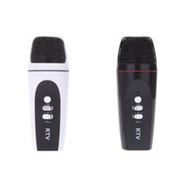 Karaoke Player - Portable Mini mm Microphone Karaoke Player Audio Recorder for iPhone Android Smartphone PC Mini Karaoke Player