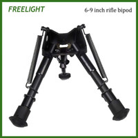 adjustable height bench - 6 quot to quot Harris Style mounting bipod Adjustable height extendable legs Hinged base for Bench rest tactical wepon target shooting bi pod