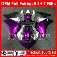 Wholesale Cbr Fairing Kit Purple - 7gifts+Bodywork For HONDA Purple silver Injection CBR250R MC41 11-13 11CL20 CBR 250R CBR250 R 11 12 13 2011 2012 2013 Purple Fairing Kit