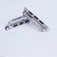 apple attachments - Stainless Steel Band Connecting Attachments for Apple Clock iWatch Watch Bands
