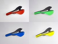 Wholesale 2015 NEW UD or K Hollow molding carbon fiber road mountain MTB bike saddle bicycle seat racing black blue white red yellow green