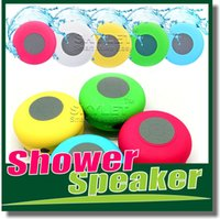 computer - Bluetooth Speaker Waterproof Wireless Shower Handsfree Mic Suction Chuck Speaker Car Speaker Portable mini MP3 Super Bass Call Receive