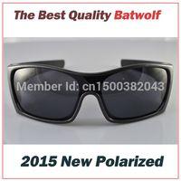 al por mayor venta al por menor gafas de sol polarizadas-Al por mayor-2015 Nueva polarizado gafas de sol de moda Batwolf Gafas Para Marco Hombres TR90 UV400 Protección caja al por menor