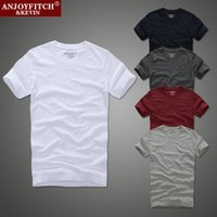 100 % cotton t shirts - 2016 Summer Brand Mens t Shirts Cotton t Shirts For Men Bottoming Shirt Solid Color Casual o Neck Male Tops Tees