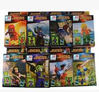 Wholesale XJ Star war minifigures building block figures Star Wars Figures children toys JR avengers in bag JR avengers JR avengers