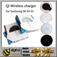 s4 wireless charger - Hot Qi Wireless Charger pad portable Power charger For iPhone Samsung Galaxy S6 S3 S4 Note2 Nexus wireless mini charger adapter panel