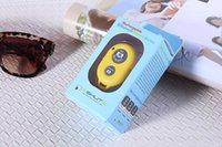 Wholesale The New Rechargeable Bluetooth Remote Shutter Bluetooth Remote Control Bluetooth Camera Phone Self timer Shutter Bluetooth Car Speakerphone