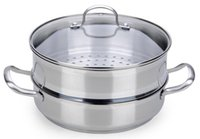Wholesale High Grade Stainless Steel Soup Pot Stylish pot Multi function steamer Feature packed Stewing Oot WKS JZ24