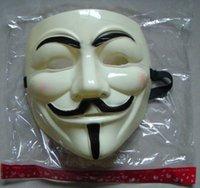 Wholesale Demonstrate mask v mask V vendetta mask Halloween carnival Mask vendetta guy fawkes1501