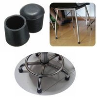 Wholesale Hot selling Practical Non slip Skid Proof Rubber Black Table Chair Leg Feet Pads Foot Covers Floor Protector