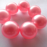 bath oil pearls - Hot g Pink Pearl Round shaped Bath Oil Bath Beads Floral or Raspberry Fragrance Bath SPA Oil