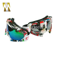 Wholesale 2015 New Arrival High quality transparent Sport racing off road motocross goggles glasses for motorcycle dirt bike