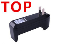 Wholesale Lithium Battery Charger Rechargeable Dry Battery US or EU Wall Charger for Electronic Cigarette kit and E Cig