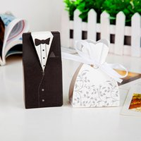 arrival favour boxes - New Arrival bride and groom box wedding boxes favour boxes wedding favors pairs G120