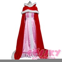 belle cape - Beauty and the Beast dress Belle princess pink cosplay dress with cape for dancing costumes