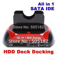 docking sata hdd docking - HDD Docking Station HDD Docking quot quot IDE SATA HDD dock Docking station with all in one card reader