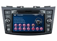 aux suzuki swift - HD din quot Car audio Car dvd gps navigation for Suzuki SWIFT With Bluetooth IPOD TV Radio RDS SWC USB AUX IN