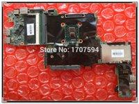 Vente en gros pour HP 2740P 607702-001 DDR2 intégré I7-620M, I3-380 100% de travail carte mère portable Livraison gratuite!