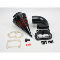 fuel filter for motorcycle - Motorcycle Air Cleaner Filter Kit For Kawasaki Vulcan Fuel Black