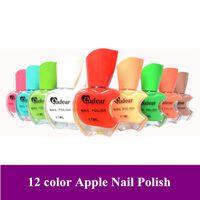 Wholesale New Pro color Apple design colorful Nair art Nail polish gel pot dropshipping