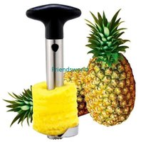 Wholesale Fashion Hot Novelty Home holds stainless steel Fruit Pineapple Corer Slicer Peeler Cutter Parer Knife DHL Fedex