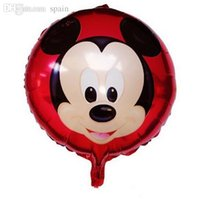 animation cartoon picture - inch Big picture Mickey Mouse Party Foil Balloons for Party Supplies or birthday cm Cartoon Animation picture