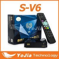 Cheap S-V6 Mini Digital Satellite Receiver S V6 Skybox V6 with AV HDMI output 2xUSB WEB TV USB Wifi Biss Key Youporn CCCAMD