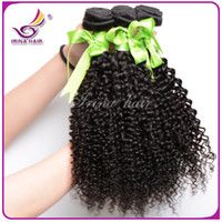 Wholesale Kinky Hair Extensions Sale - Hot sale Cambodian Kinky Curly Hair Extensions Bundles 3Pcs lot Brazilian Peruvian Malaysian Virgin Remy Hair Cheap Human Curly Hair Weaves