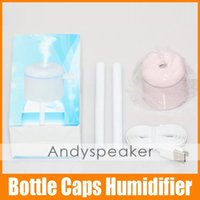 warm mist humidifier - Bottle Caps Humidifier Mini USB Air Cleaning LED Display Working Warm Mist Humidifier Original Authentic
