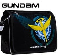 Cross Body art messenger bags - New Gundam Sword Art Online Messenger Bags Death Note Black rock shooter Katekyo Hitman Reborn One piece bag