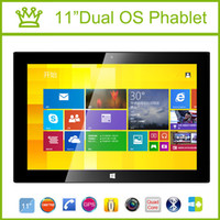 Wholesale 11 inch Windows Android tablet SIM card Phone Call GB ROM Intel Z3736F Quad Core GPS Bluetooth USB HDMI Dual Boot Tablet