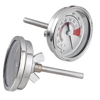 galvanized steel - Barbecue BBQ Pit Smoker Grill Thermometer Temp Gauge