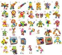Lamaze Toy Crib jouets avec maillot de rattle Infant Early Development Poussette de jouet musique Jouet de poupée Lamaze Tissu Livre Livres 40 Style Choisissez