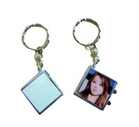 Wholesale Kit Blank sublimation printing Mirror Pocket mirror supply Make Up Mirror Double Sided Mirrors
